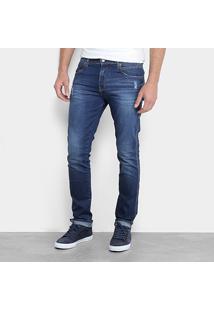 Calça Jeans Skinny Calvin Klein Estonada Sculpted Masculina - Masculino