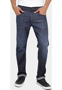 Calça Jeans Ellus Fred Slim Fit Lavada Masculina - Masculino