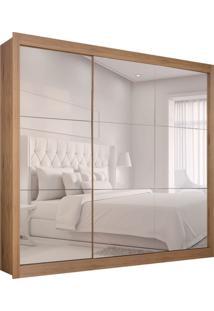 Guarda-Roupa Casal Master Com 3 Espelhos 3 Pt 2 Gv Madeirado