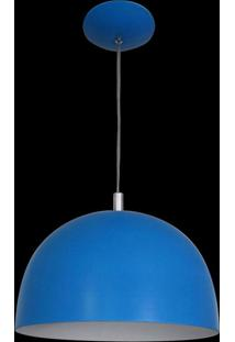 Pendente Color Dome Azul Attena