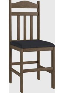 Cadeira Mad 200 Par Marrom Móveis Canção