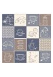 Adesivo De Azulejo Cozinha Café 15X15Cm Com 18Un