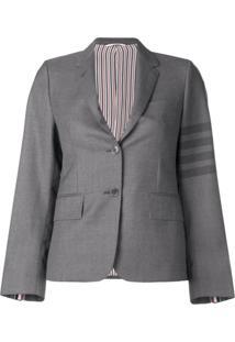 Thom Browne Blazer Narrow School Uniform - Cinza