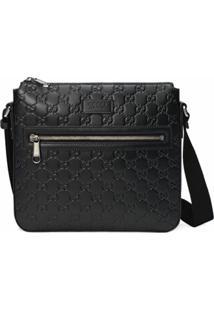 Gucci Messenger Bag Gucci Signature - Preto