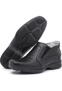 Sapato Social Conforto Top Franca Shoes Preto