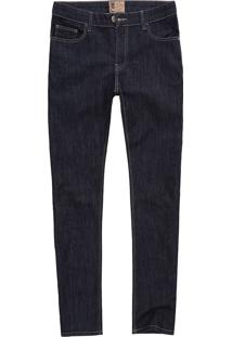 Calça West Coast Jeans Sl Fit Natural Wash Indigo Escuro