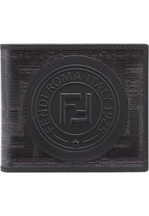 Fendi Carteira 'Double F' - Preto