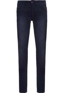 Calça Jeans Masculina Piquet Skinny - Azul Marinho