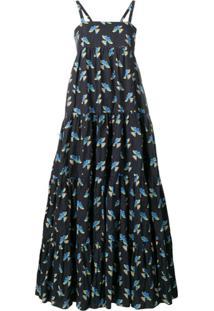 La Doublej Vestido 'Bouncy' - Azul
