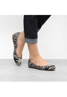 Sapatilha Santa Lolla Zebra Pedras Feminina - Feminino