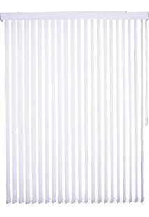 Persiana Tecido 89Mm Isadora Design Vertical 2,40Mx2,20M Branco