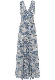 Vestido Sonia - Azul