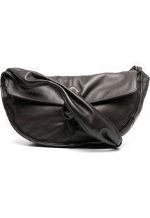 Hereu Nusa Slouchy Shoulder Bag - Marrom