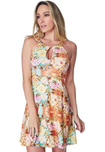 Vestido Coral Celestine Estampado