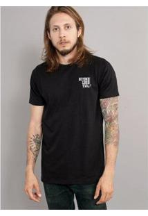 Camiseta Bandup Guns N Roses Logo Skull Mescla - Masculino-Preto