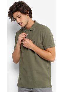 Camisa Polo Reserva Piquet Básica Masculina - Masculino