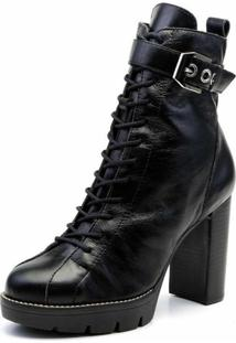 Bota The Box Project True Love Preto > 34 - Feminino-Preto