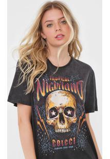 Camiseta Colcci Nightland Preta