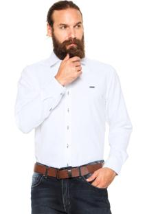 Camisa Mr. Kitsch Reta Branca
