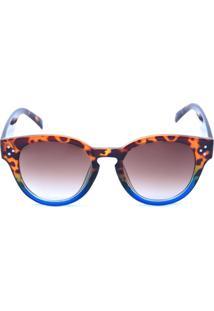 bab585f2cb537 R  69,00. Dafiti Óculos De Sol Prorider Tartaruga Com Azul E Lente Degradê