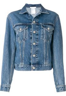 Helmut Lang Jaqueta Jeans - Azul