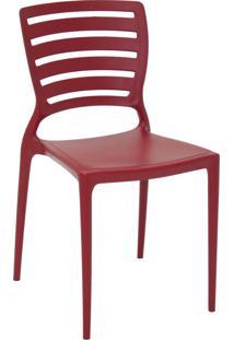 Cadeira Tramontina Sofia 92237/040 Vermelho Se