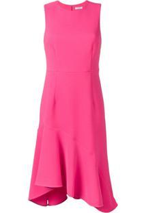 P.A.R.O.S.H. Vestido Evasê Sem Mangas - Rosa