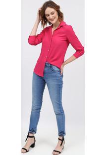 Camisa Texturizada Lisa - Pinkscalon