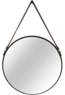 Espelho Decorativo Bart 46 X 58 Cm Preto