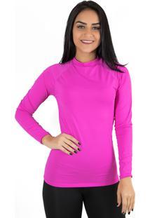 Camisa Térmica Diluxo Rosa