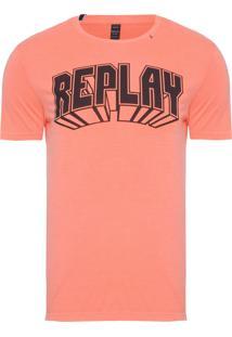Camiseta Masculina 3D - Laranja