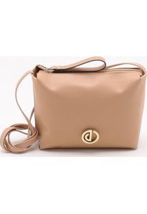 Bolsa Shoulder Bag Areia Rose - P
