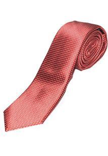 Gravata Vermelha Slim 4026