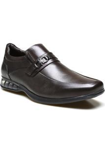 Sapato Social Supertech Air Em Couro Calvest - Masculino
