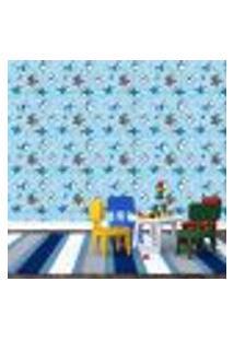 Papel De Parede Adesivo - Tubarão - Surf - Infantil - 349Ppi