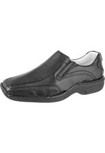 Sapato Linha Conforto Difranca - 2015 - Preto