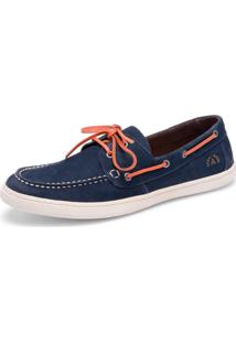Dockside Ramillo Shoes Benedito Azul Jeans E Coral