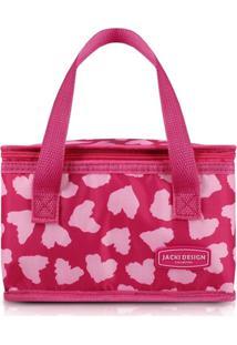 Bolsa Térmica Jacki Design Bem-Estar Rosa
