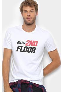 Camiseta Ellus 2Nd Floor Co Basic Future Masculina - Masculino