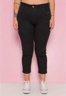 Calça Plus Size Mom Sislla Jeans Lolla Feminina - Feminino