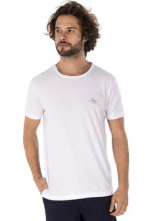 Camiseta Side Walk Camiseta Shark Friend Branco