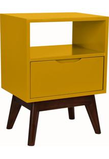 Mesa De Cabeceira On 1 Gv Amarela E Preta