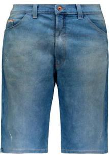 Bermuda Hd Ly Jeans Masculina - Masculino-Azul