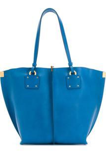 Chloé Bolsa Tote Pequena - Azul