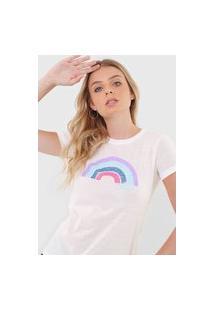 Camiseta Aeropostale Hello Branca
