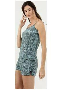 Baby Doll Feminino Estampa Animal Print Marisa