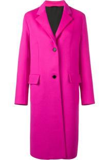 Calvin Klein 205W39Nyc Casaco Com Bolsos - Rosa