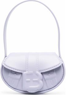Forbitches Logo-Embossed Shoulder Bag - Roxo