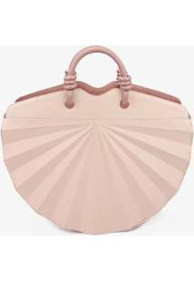 Bolsa Handbag Soleah Leque Feminina - Feminino-Rosa