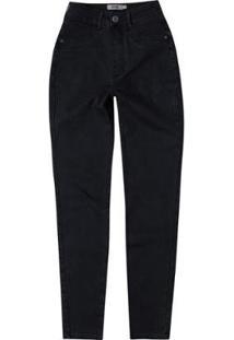 Calça Feminina Enfim Super Skinny Cintura Alta Jeans - Feminino
